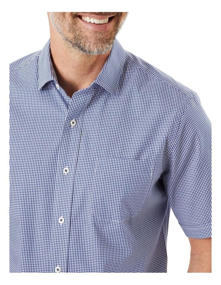 Easy Care Stretch Gingham Short Sleeve Shirt image 3