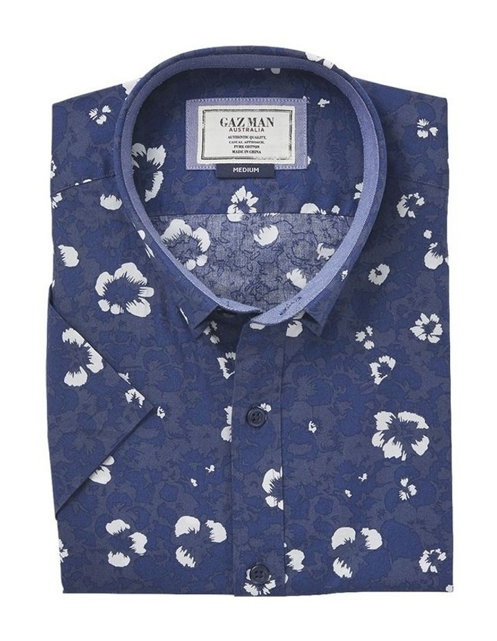 Casual Hibiscus Floral Print Short Sleeve Shirt image 4