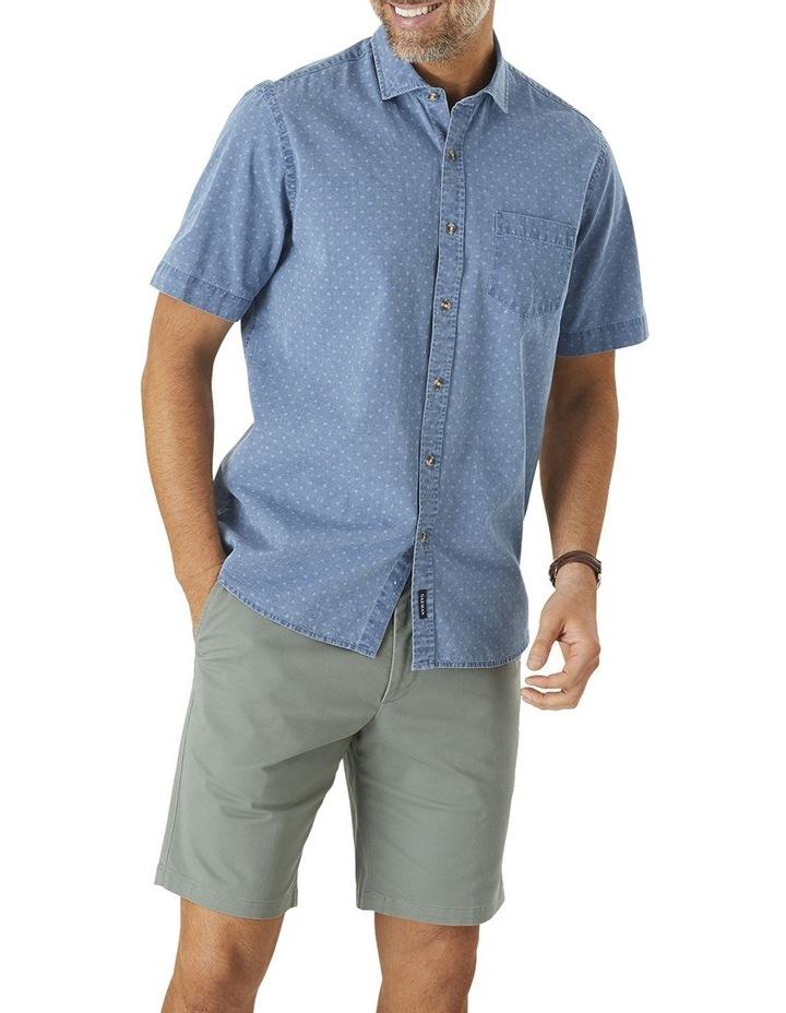 True Indigo Print Short Sleeve Shirt image 1