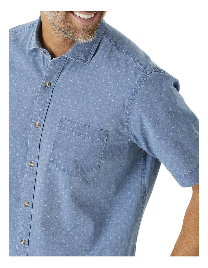 True Indigo Print Short Sleeve Shirt image 2