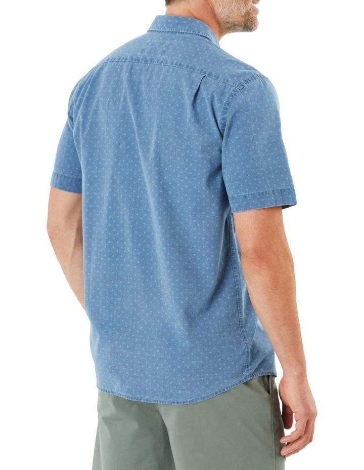 True Indigo Print Short Sleeve Shirt image 3