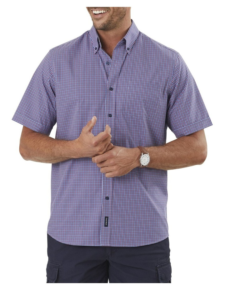 Easy Care Mini Gingham Short Sleeve Shirt image 1