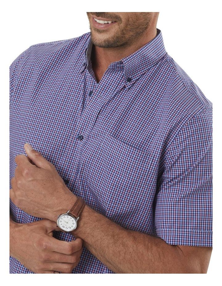 Easy Care Mini Gingham Short Sleeve Shirt image 3