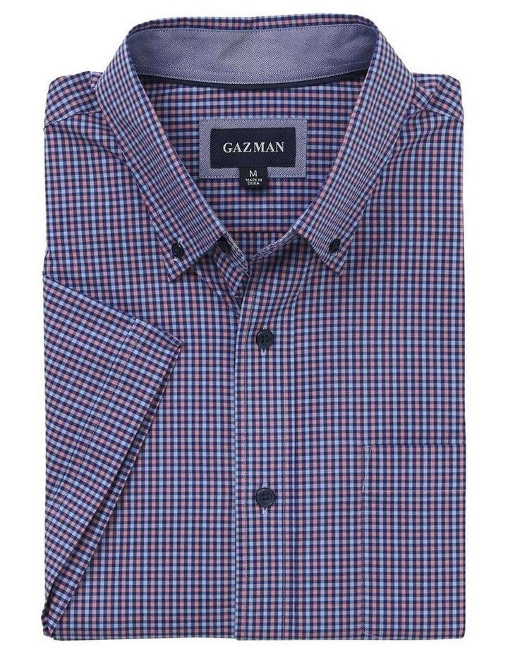 Easy Care Mini Gingham Short Sleeve Shirt image 4