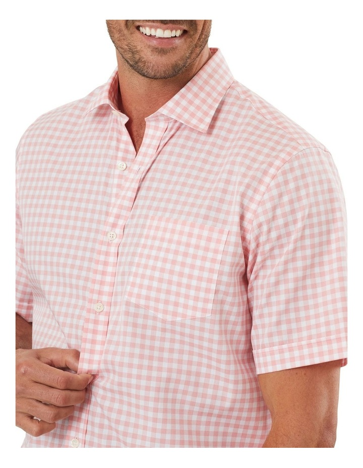 Easy Care Check Short Sleeve Shirt image 3