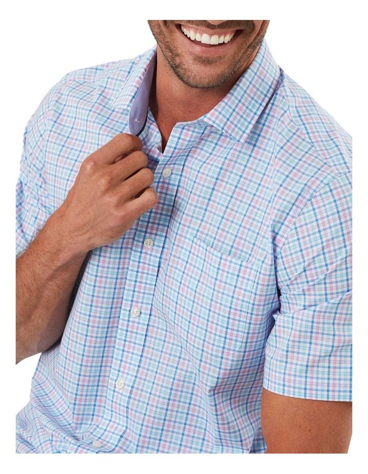 Easy Care Multi Check Short Sleeve Shirt image 3