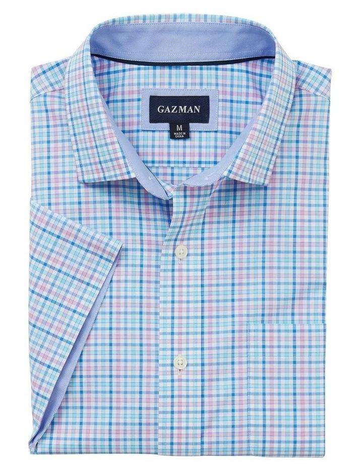 Easy Care Multi Check Short Sleeve Shirt image 4