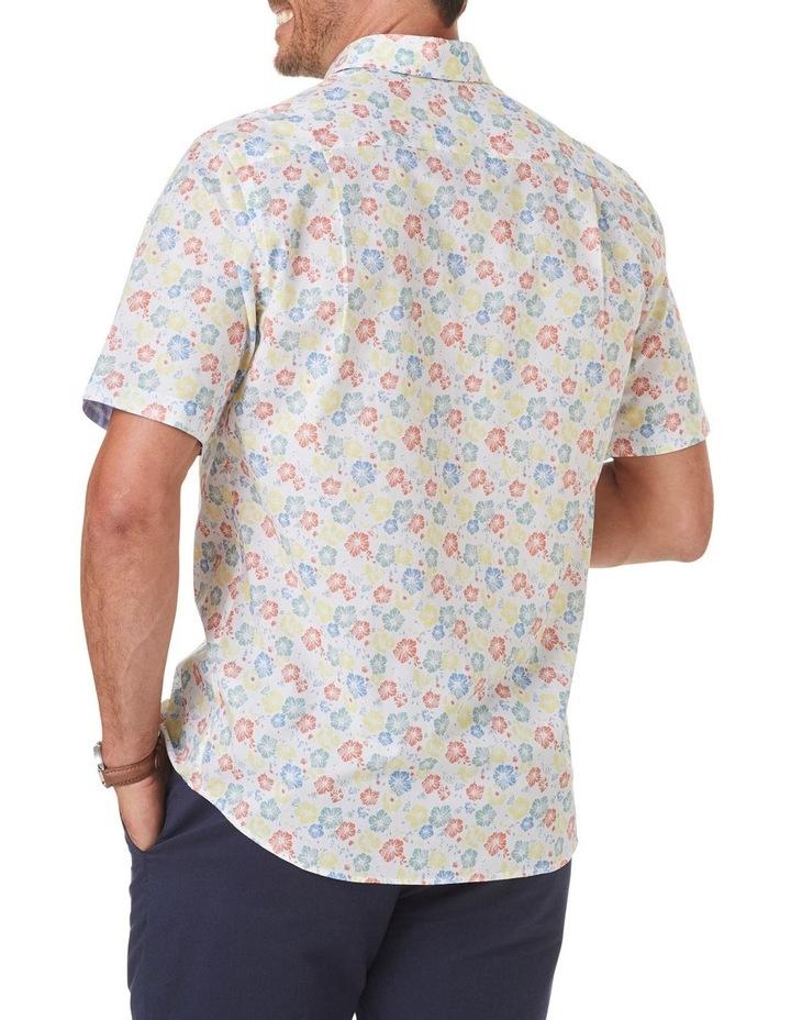 Smart Floral Print Short Sleeve Shirt image 2