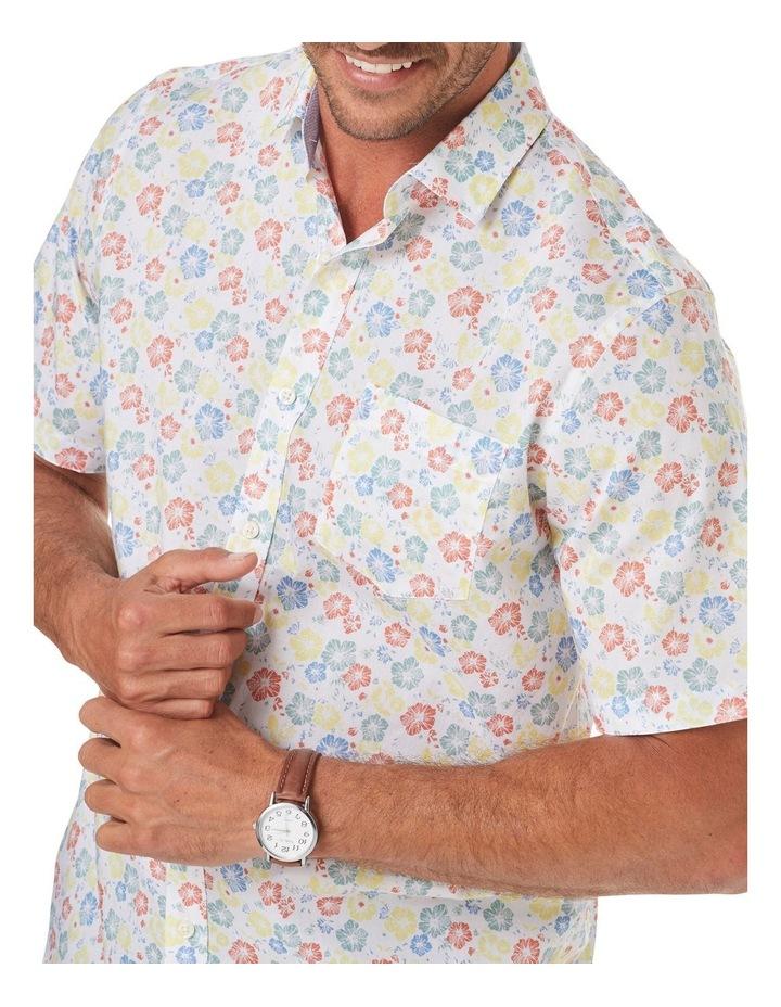 Smart Floral Print Short Sleeve Shirt image 3