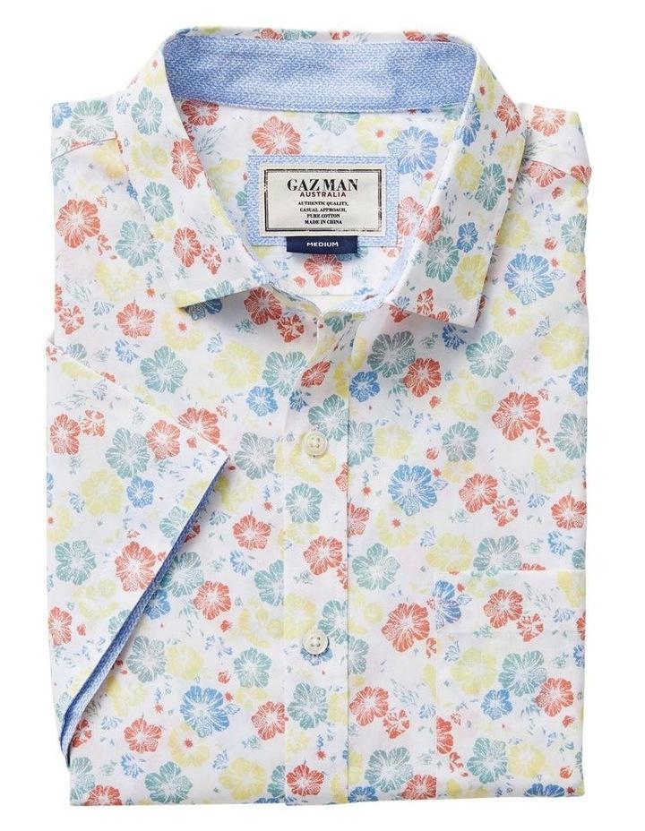 Smart Floral Print Short Sleeve Shirt image 4