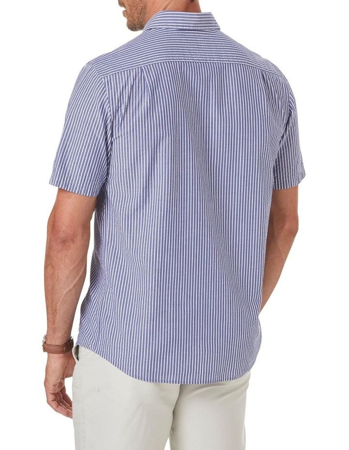 Seersucker Stripe Short Sleeve Shirt image 2