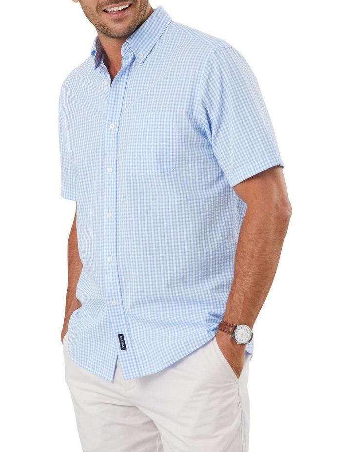 Seersucker Check Short Sleeve Shirt image 1