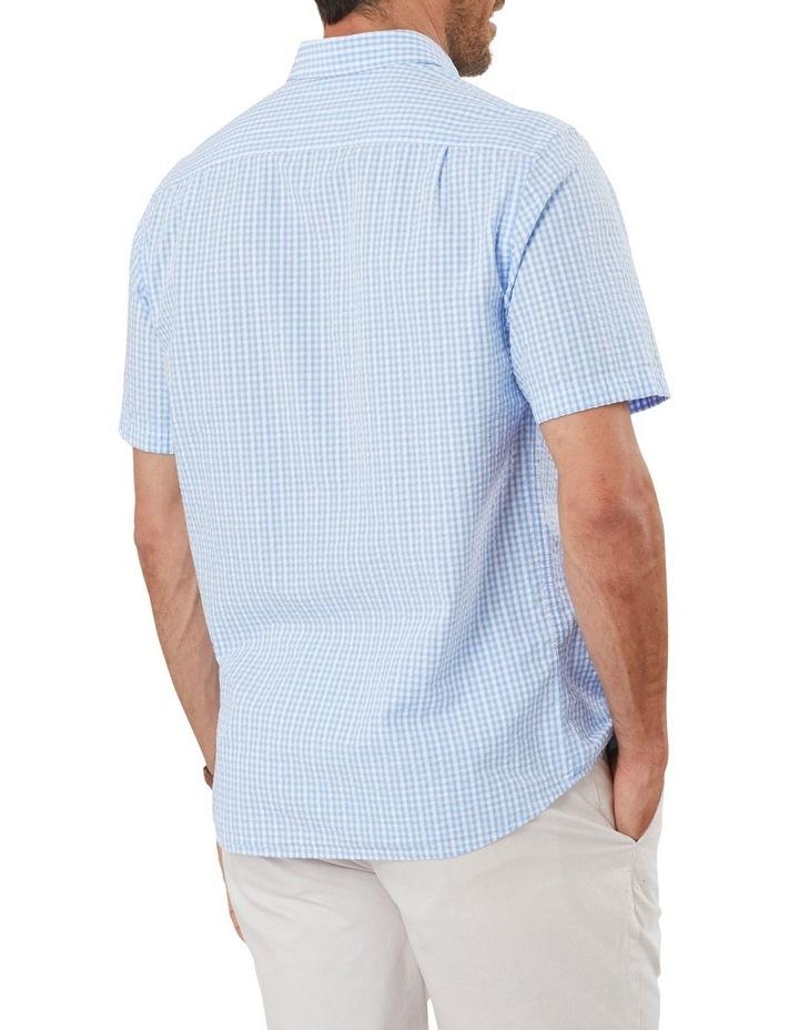 Seersucker Check Short Sleeve Shirt image 2
