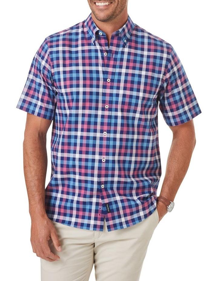 Easy Care Box Check Short Sleeve Shirt image 1