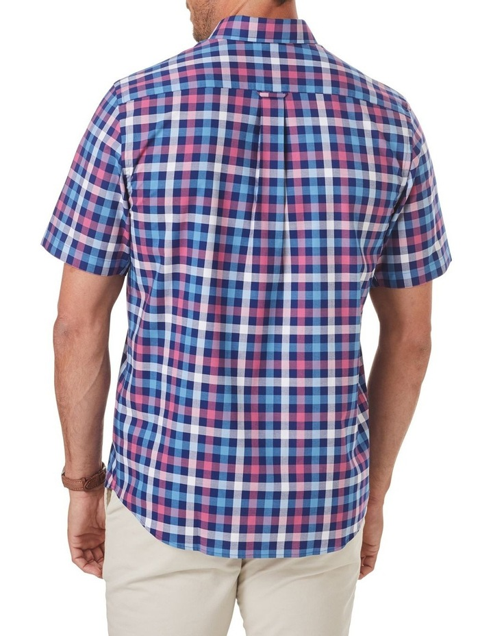 Easy Care Box Check Short Sleeve Shirt image 2