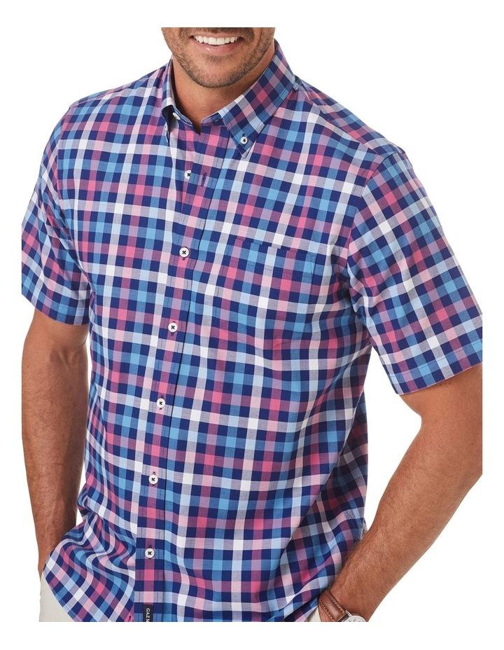 Easy Care Box Check Short Sleeve Shirt image 3