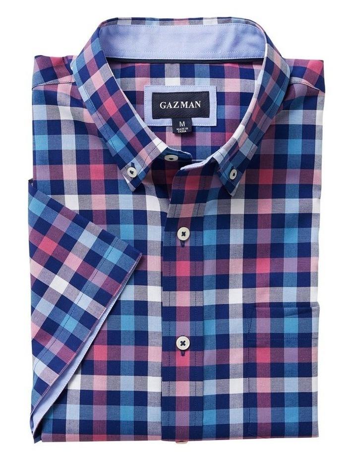 Easy Care Box Check Short Sleeve Shirt image 4