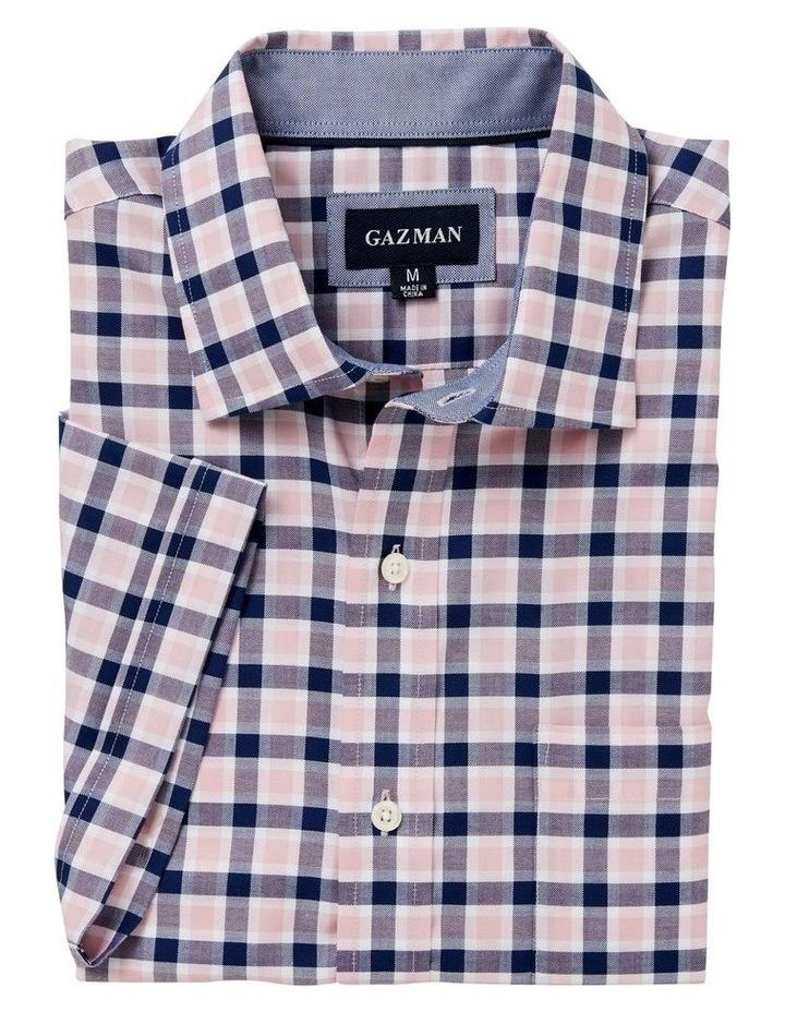 Easycare Oxford Check Short Sleeve Shirt image 4