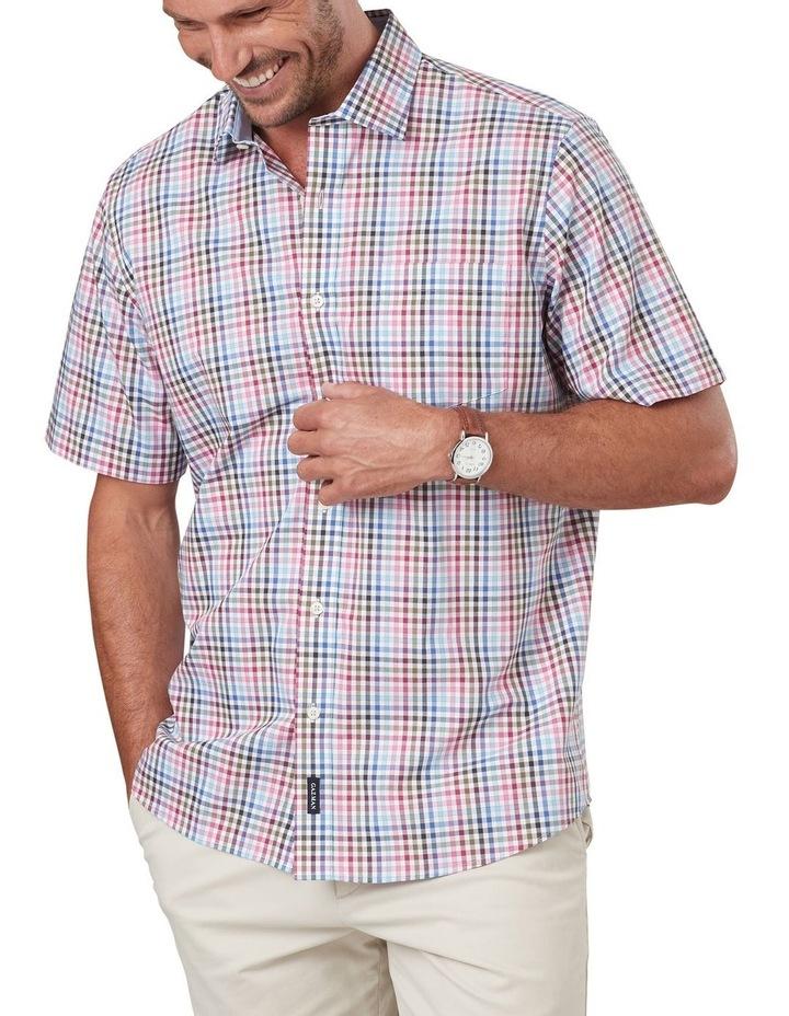 Easycare Multi Check Short Sleeve Shirt image 1