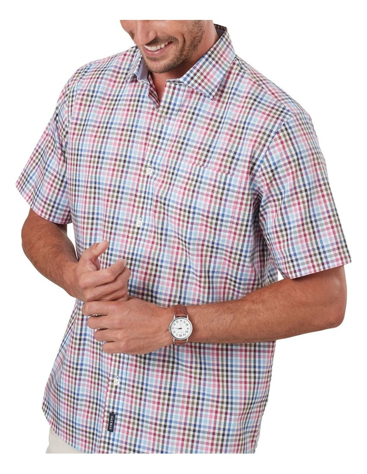 Easycare Multi Check Short Sleeve Shirt image 3