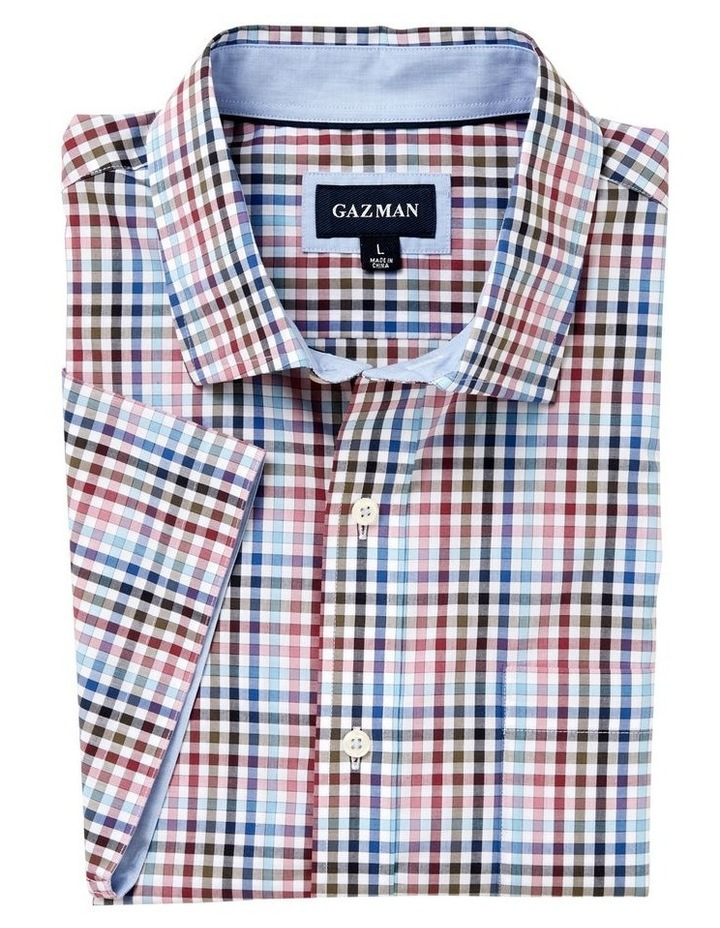 Easycare Multi Check Short Sleeve Shirt image 4