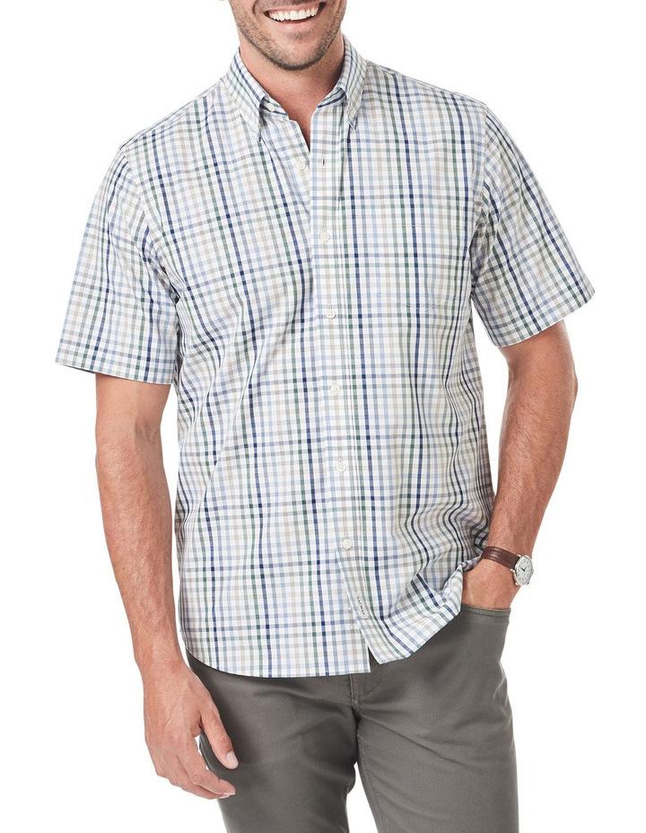 Easy Care Multi Check Short Sleeve Shirt image 1