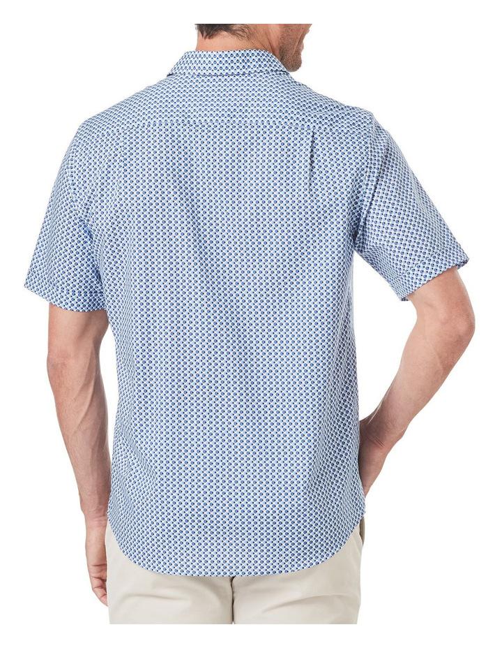 Smart Circle Geo Print Short Sleeve Shirt image 2