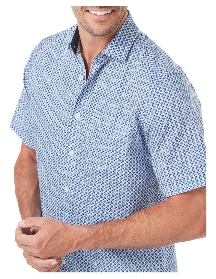Smart Circle Geo Print Short Sleeve Shirt image 3