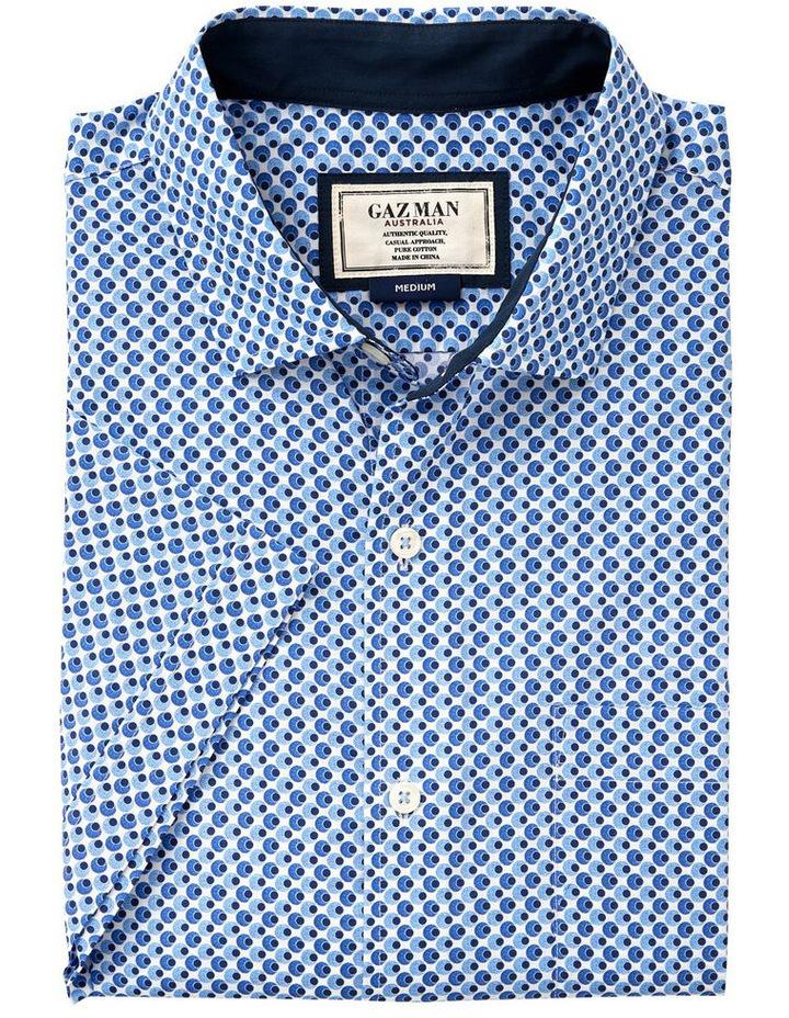 Smart Circle Geo Print Short Sleeve Shirt image 4
