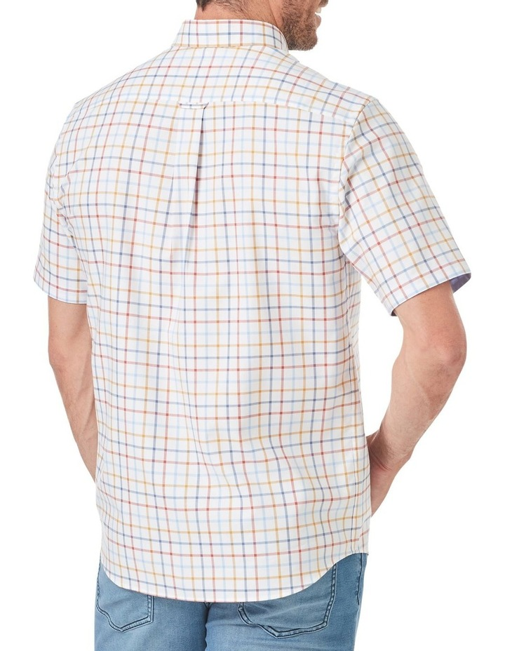Easy Care Oxford Multi Check Short Sleeve Shirt image 2