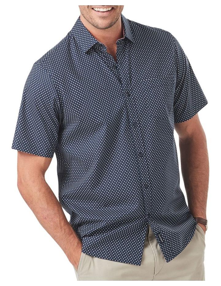 Smart Geo Print Short Sleeve Shirt image 1