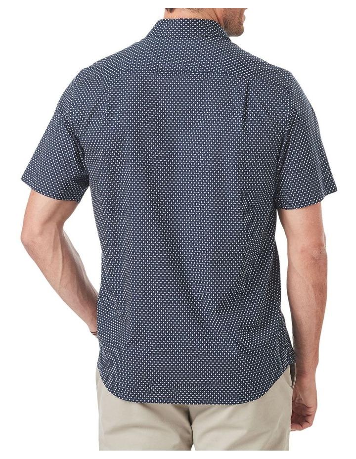 Smart Geo Print Short Sleeve Shirt image 2