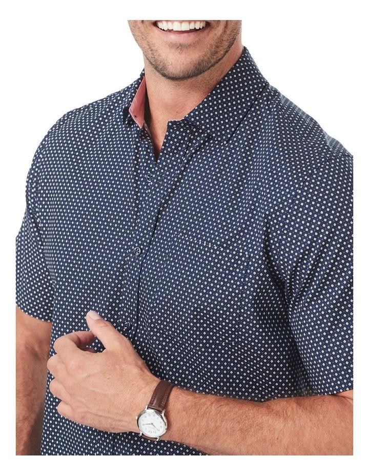 Smart Geo Print Short Sleeve Shirt image 3