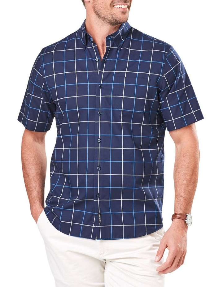 Easy Care Oxford Check Short Sleeve Shirt image 1