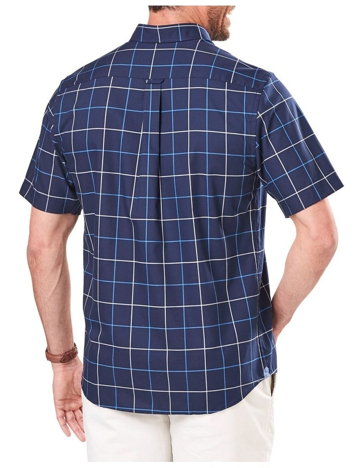 Easy Care Oxford Check Short Sleeve Shirt image 2