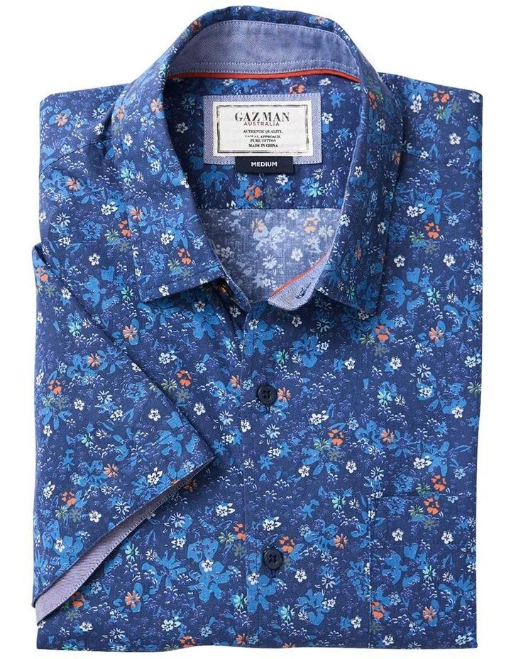 Casual Floral Print Short Sleeve Shirt image 4