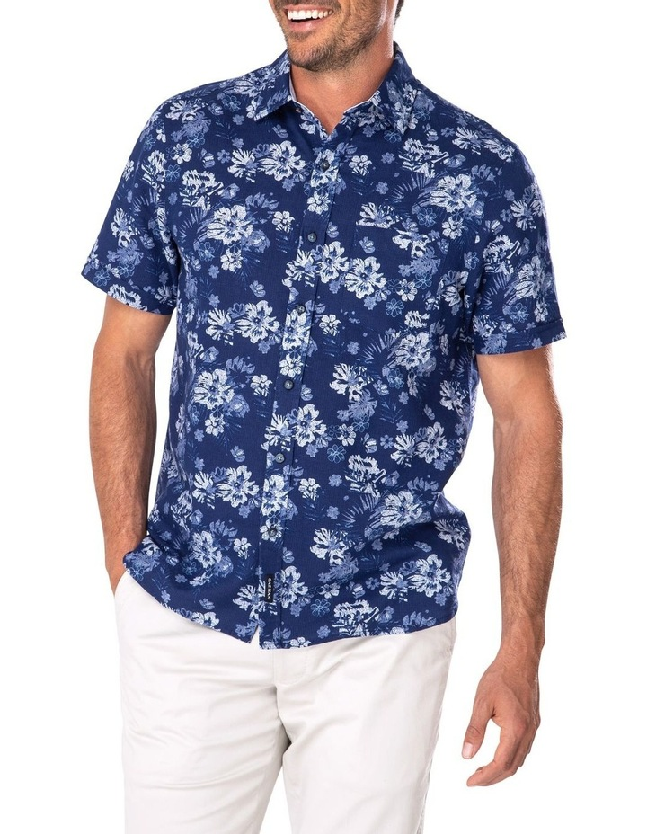 Feather Weight Floral Print Short Sleeve Shirt image 1