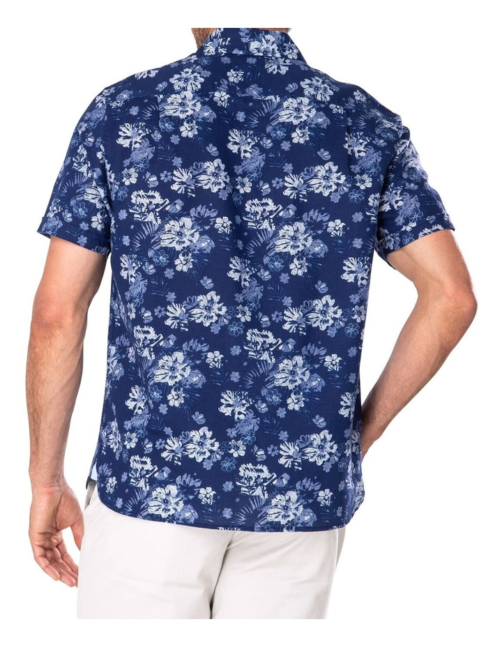 Feather Weight Floral Print Short Sleeve Shirt image 2