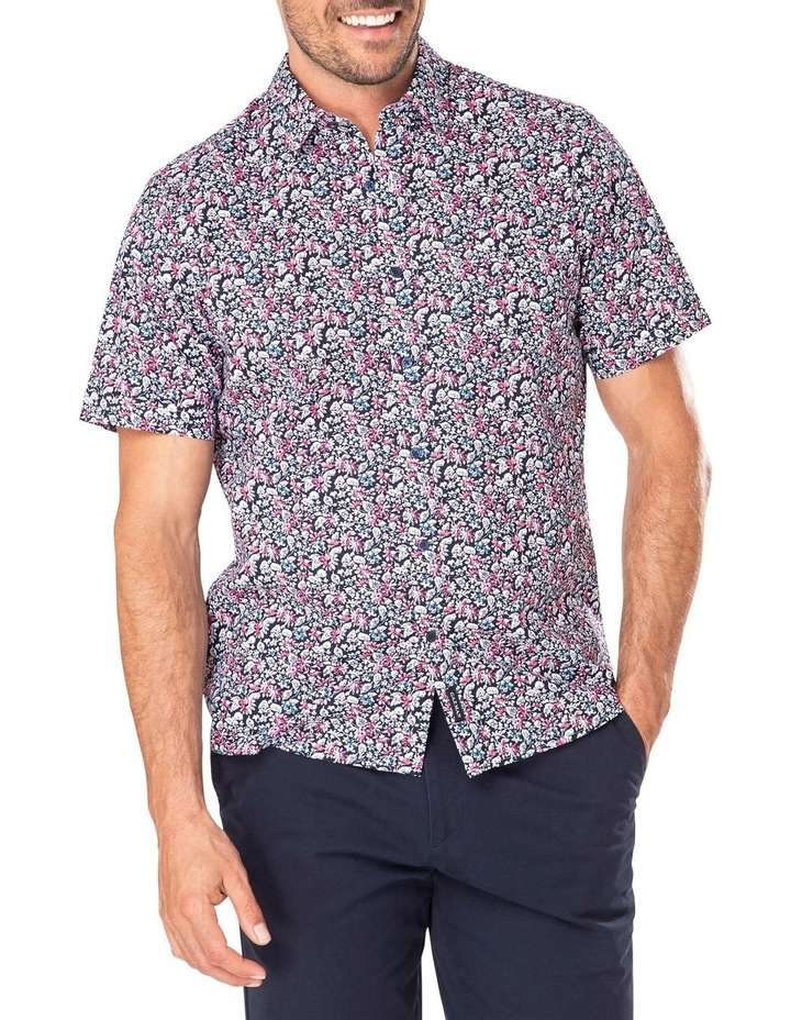 Casual Floral Print Short Sleeve Shirt image 1