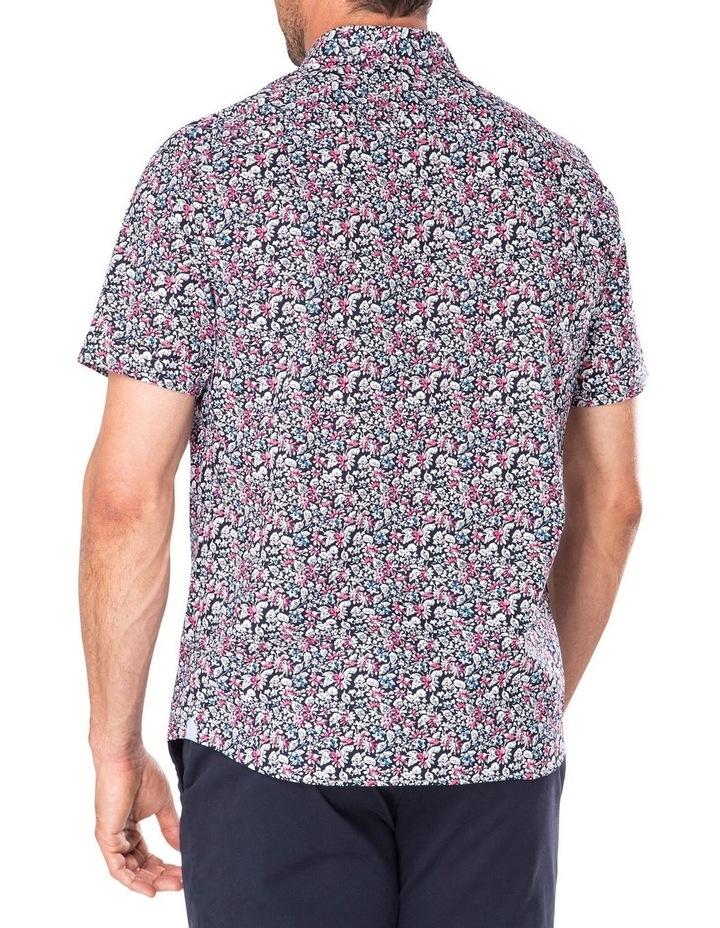 Casual Floral Print Short Sleeve Shirt image 2