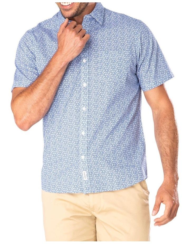 Casual Turtle Print Short Sleeve Shirt image 1