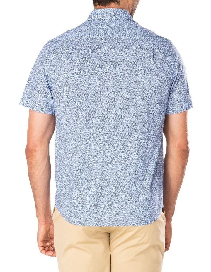 Casual Turtle Print Short Sleeve Shirt image 2