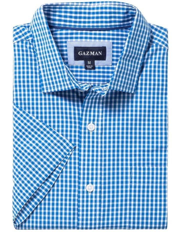 Easy Care Check Short Sleeve Shirt image 4