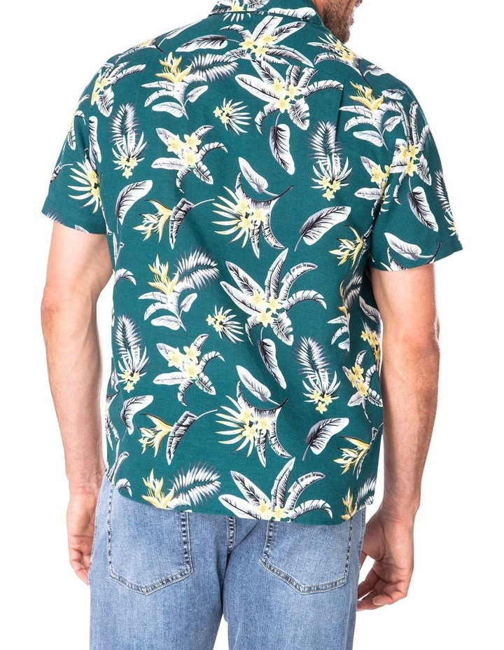 Casual Feather Weight Floral Short Sleeve Shirt image 2