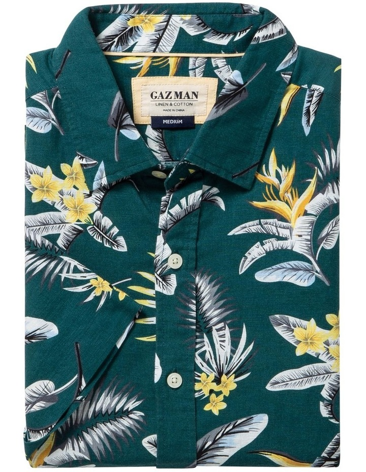 Casual Feather Weight Floral Short Sleeve Shirt image 4