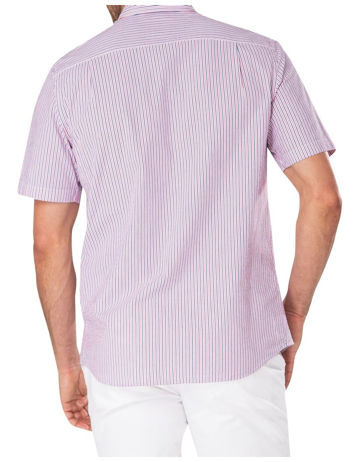 Seersucker Stripe Short Sleeve Shirt image 2