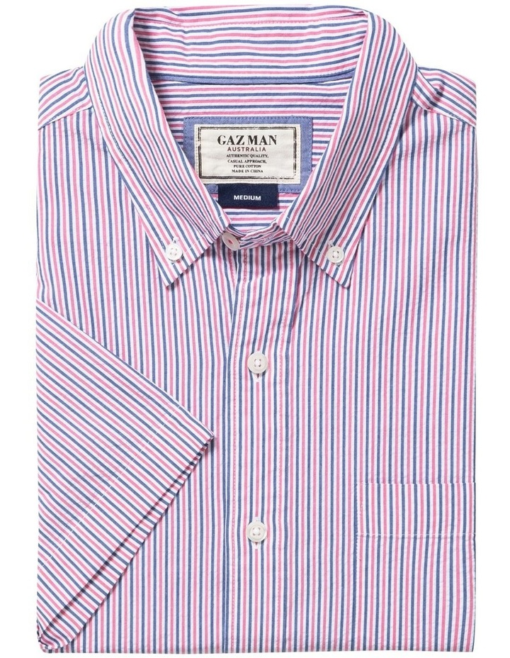 Seersucker Stripe Short Sleeve Shirt image 4