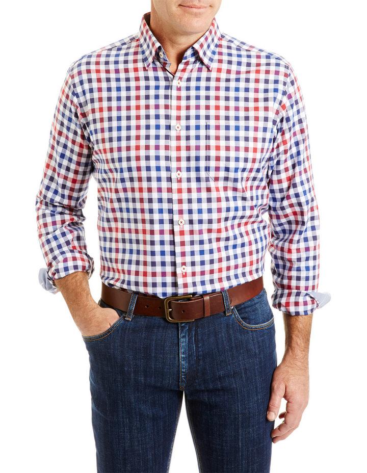 Easy Care Oxford Multi Check Shirt image 1