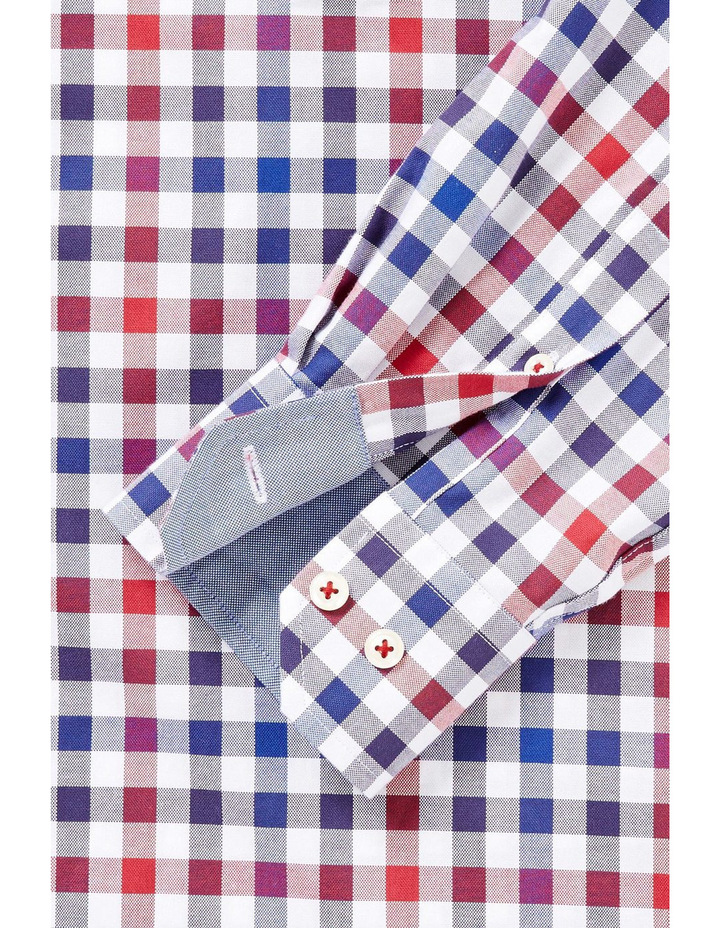 Easy Care Oxford Multi Check Shirt image 2
