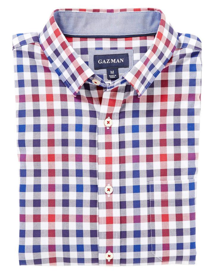 Easy Care Oxford Multi Check Shirt image 3